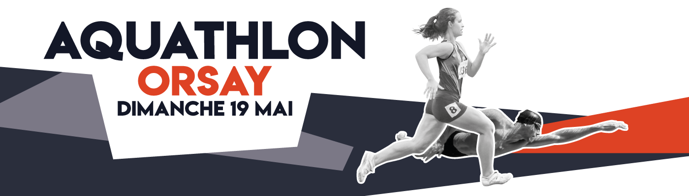 Aquathlon d'Orsay 2019